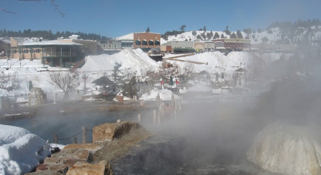 Hot springs in Pagosa, Colorado