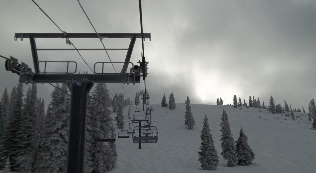 Ski lift at Steamboat