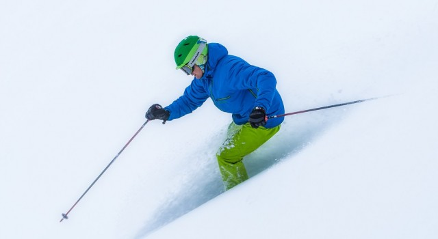 Skier at Sundance Mountain Resort