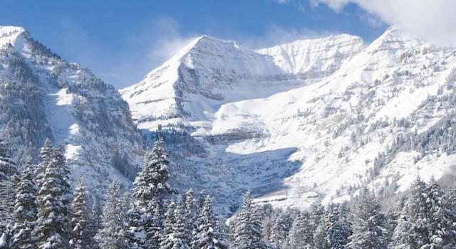 Breathtaking mountain view at Sundance Mountain Resort