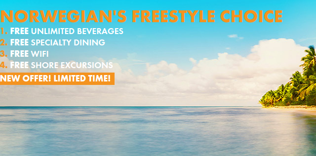 Freestyle cruises on sale with Norwegian