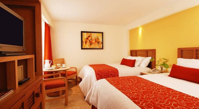 Double room at Buenaventura Grand Hotel and Spa