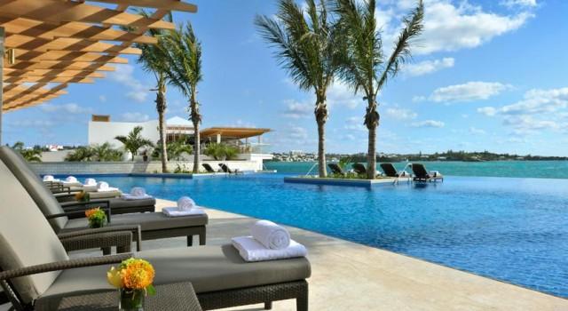 Pool view at Hamilton Princess and Beach Club
