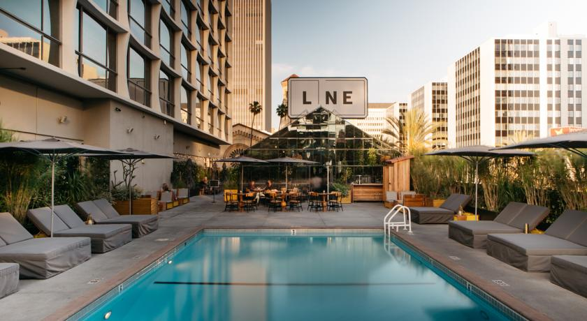 4 star the line hotel in los angeles for 220 the travel - 4 star hotels in lisbon with swimming pool ...