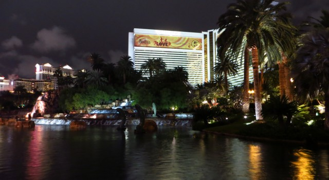 Mirage Las Vegas resort and casino