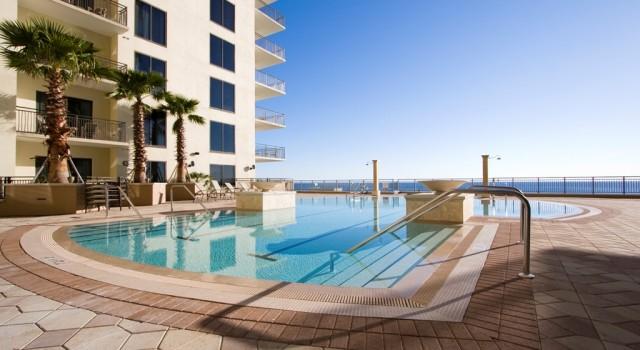 Outdoor pool at Origin at Seahaven