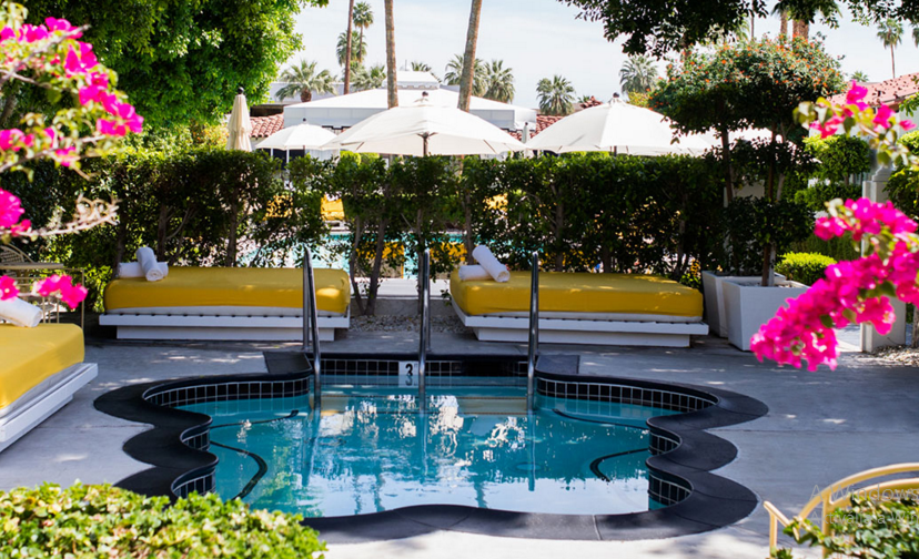 4 Star Parker Palm Springs Boutique Hotel For  255