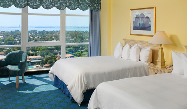 Double room at Miami Beach Resort and Spa