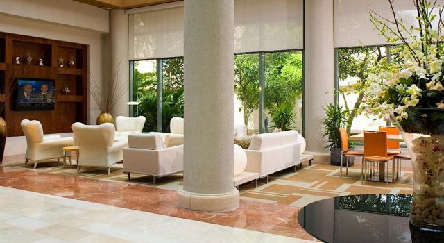 Lobby at DoubleTree by Hilton San Juan