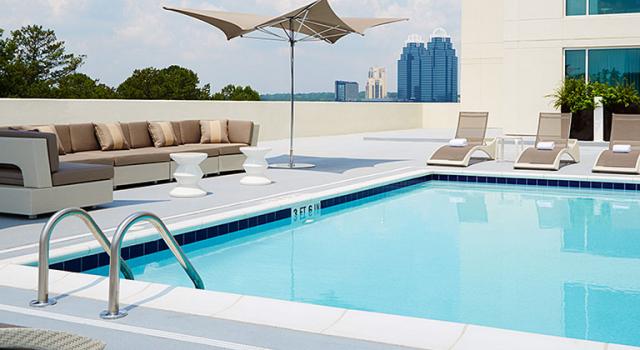 Pool at Hyatt Regency Atlanta