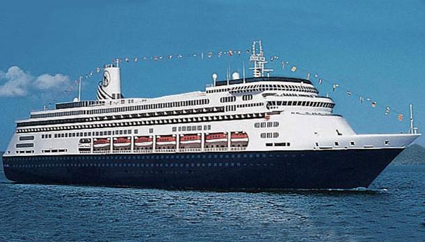MS Volendam cruise ship by Holland America