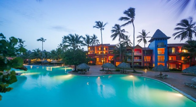 Pool view at Caribe Club Princess