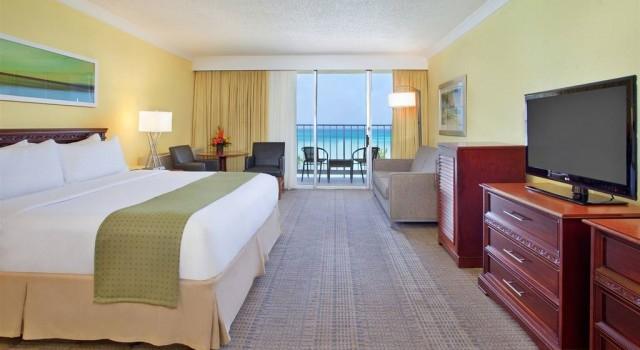 Ocean view room at Holiday Inn Resort Aruba