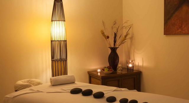 Spa treatment room at Tesoro Los Cabos
