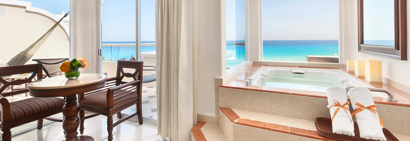 4 Star All Inclusive Grand Caribe Resort In Cancun For