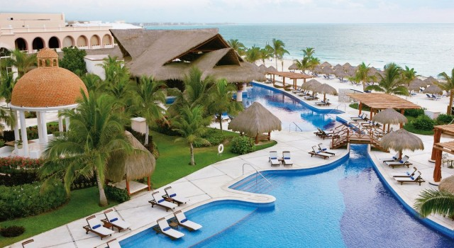 Excellence Riviera Cancun pool view