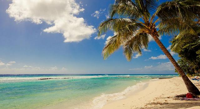 The beach at Sugar Bay Barbados resort