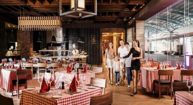 Restaurant at Barcelo Maya Beach