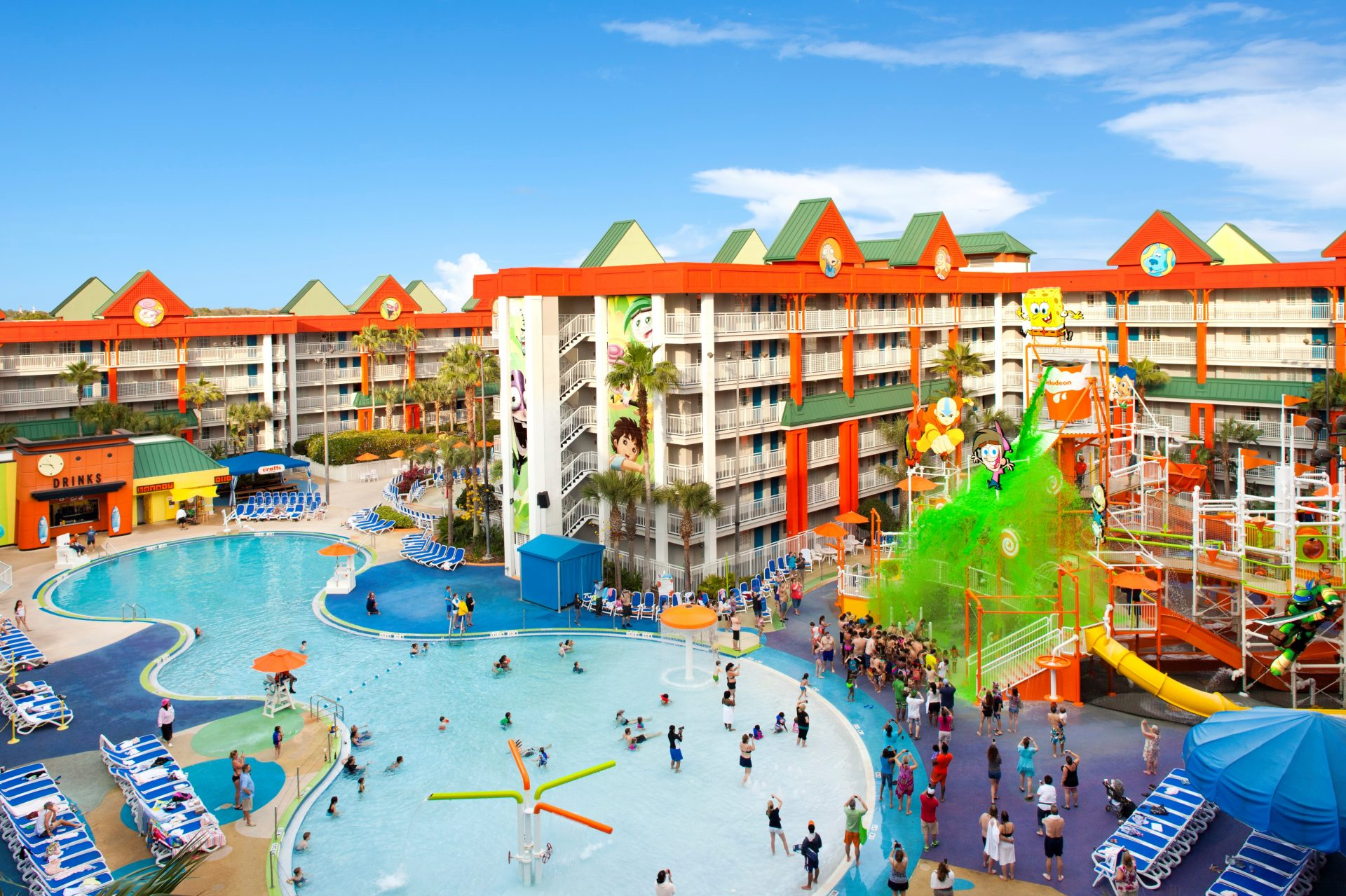 Nickelodeon Suites Resort Family Hotel In Orlando For
