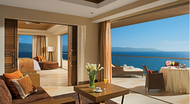 Master suite at Now Amber Puerto Vallarta