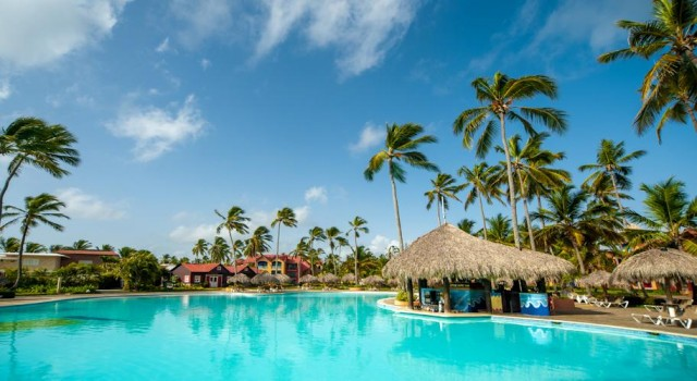 Pool view at Punta Cana Princess Resort