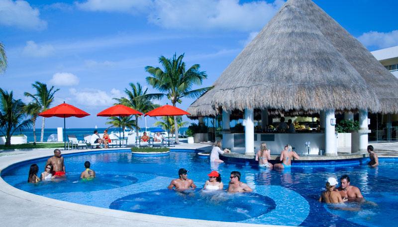 flirting games at the beach club resort spa cancun