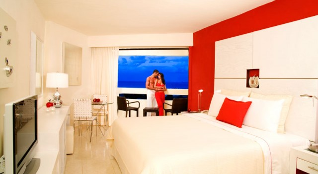 Room at Temptation Resort and Spa Cancun