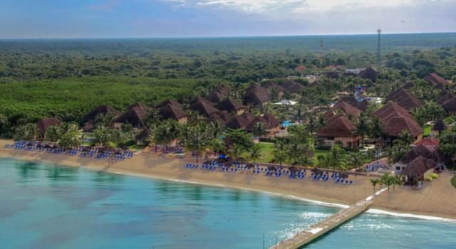 Allegro Cozumel Resort - aerial view