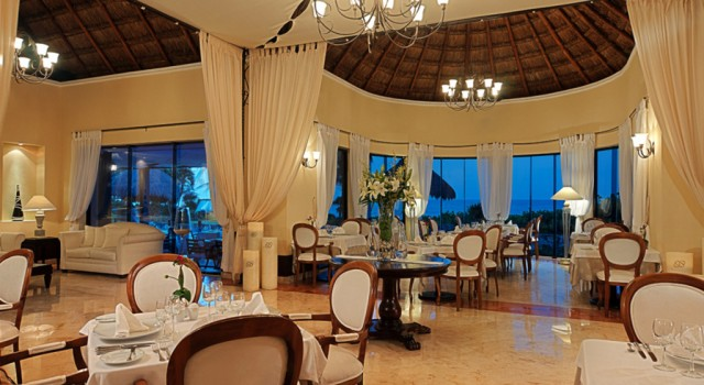 Royal Club Restaurant at Occidental Grand Xcaret