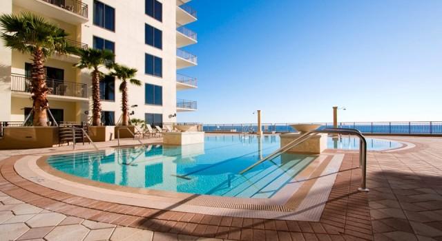 Outdoor pool at Origin Beach Resort