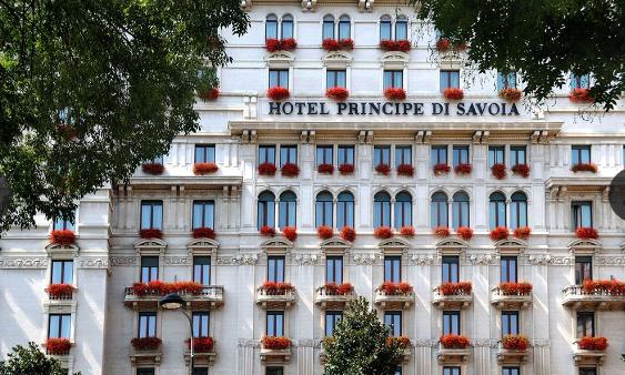 Hotel Principe di Savoia - facade