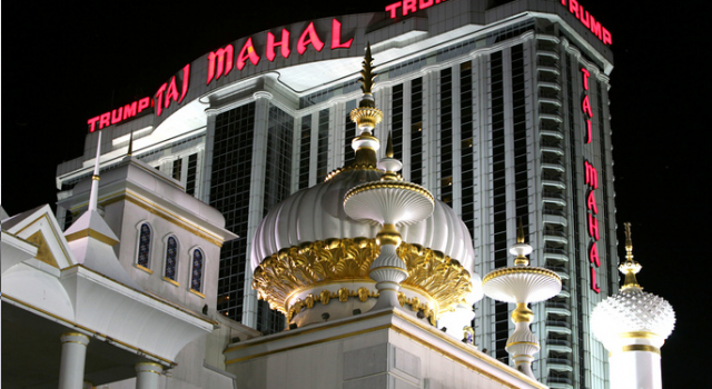 The Trump Taj Mahal Casino in Atlantic City