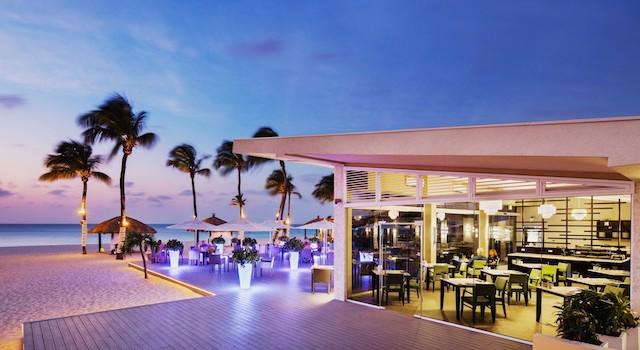 Elementa Restaurant at Bucuti and Tara Beach Resort Aruba
