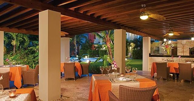 Italian restaurant at Now Garden Punta Cana