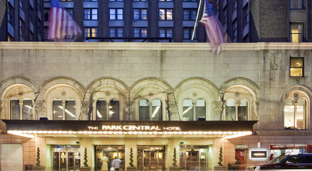 Park Central Hotel in New York City