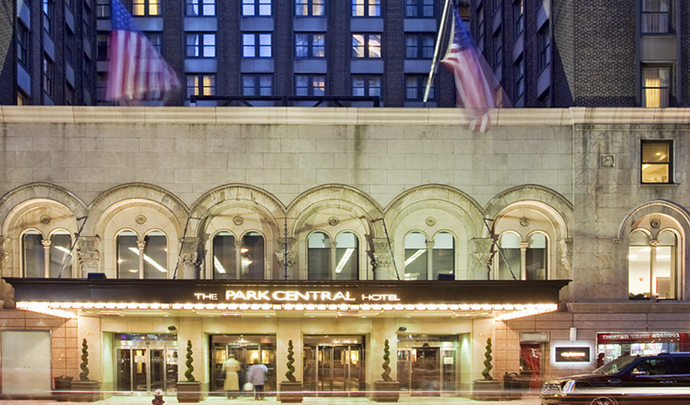 4 Star Park Central Hotel In New York On Sale From 150
