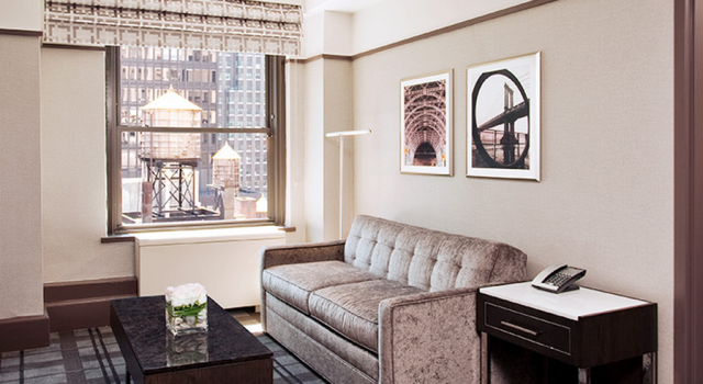 Suite at Park Central Hotel