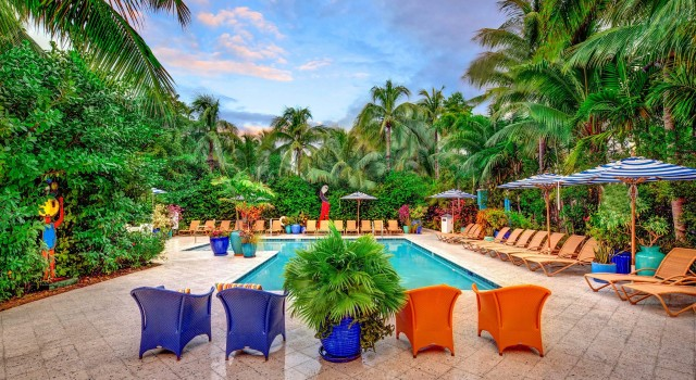 Pool view at Parrot Key Hotel and Resort