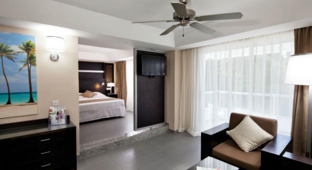 Junior suite at Hotel Riu Naiboa