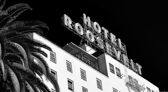 The Hollywood Roosevelt Hotel in Los Angeles