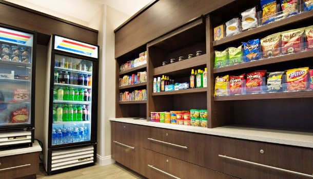 Convenience store at SpringHill Suites Pensacola Beach
