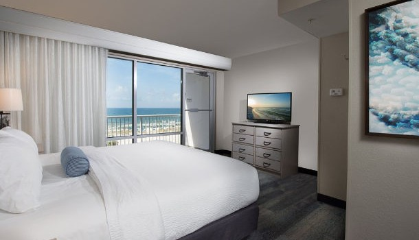 Suite inside at SpringHill Suites Pensacola Beach