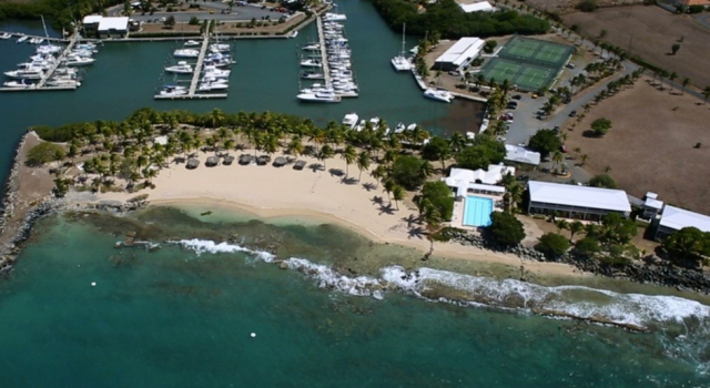 Tamarinf Reef Resort Spa and Marina - aerial view