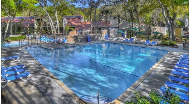 Pool at Villas by the Sea Resort