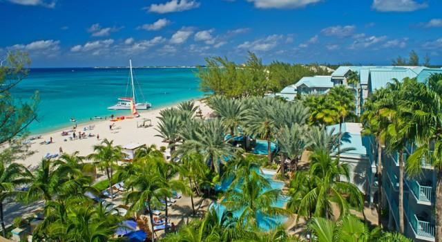 Beach view at The Westin Grand Cayman Island Seven Mile Beach Resort