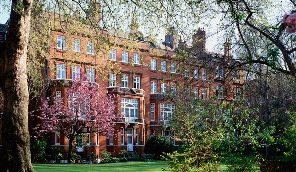 Draycott Hotel in London - garden view