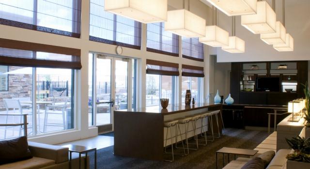 Lobby at Element Denver Park Meadows