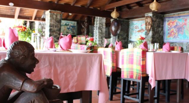 Restaurant at The Hummingbird Beach Resort