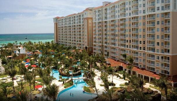 Marriott's Aruba Surf Club - exterior view