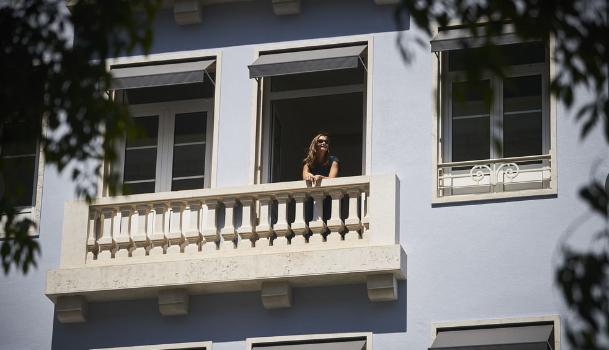 PortoBay Marques hotel facade in Lisbon